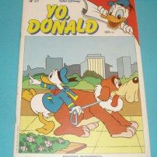 Cómics: YO, DONALD Nº 21 . TAMAÑO 19 X 26,5. Lote 15617371