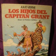 Cómics: LOS HIJOS DEL CAPITAN GRAN. JULIO VERNE. DIBUJOS F.CAPRIOLI. ED PAULINAS. 1974 66 PAGI.. Lote 21456298