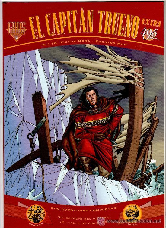 EL CAPITAN TRUENO COLECCION FANS COMPLETA 44 EJEMPLARES A FALTA DE 5 NUMEROS (Tebeos y Comics - Comics Colecciones y Lotes Avanzados)