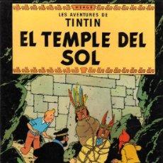Cómics: COMIC - LES AVENTURES DE TINTIN -EL TEMPLE DEL SOL -CUARTA EDICION 1979-EN CATALAN. Lote 15728203