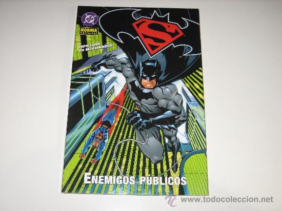 SUPERMAN / BATMAN - ENEMIGOS PUBLICOS (Tebeos y Comics - Comics Colecciones y Lotes Avanzados)