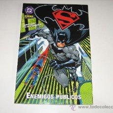 Cómics: SUPERMAN / BATMAN - ENEMIGOS PUBLICOS. Lote 25415047
