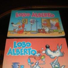 Cómics: 2 COMICS LOBO ALBERTO Nº 1 Y 2 (EDIC. B) 1988. Lote 18217545