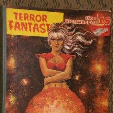 Cómics: TERROR FANTASTIC. AÑOS 2.- NÚMERO 15 (DICIEMBRE 72, EXTRA) Y AÑO 3.-NUMERO 20 AL 24(MAYO 73-SEPT.73. Lote 24119307