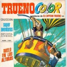 Comics : CAPITÁN TRUENO. TRUENO COLOR. SEGUNDA ÉPOCA. NÚMEROS 20, 21 Y 22 (1975).. Lote 27478866
