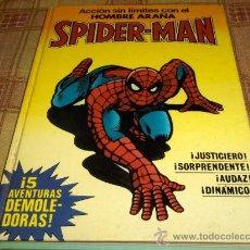 Cómics: BRUGUERA SPIDERMAN Nº 1 Y LA MASA Nº 1. 1982. COLECCIÓN COMPLETA. RETAPADOS DE TAPAS DURAS DIFÍCILES. Lote 16053471