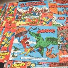 Cómics: LOTE DE 25 TEBEOS - SERIE CAPITAN TRUENO - COLECCION DAN - EDIT. BRUGUERA - NO ORIGINALES. Lote 21706523