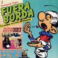 Cómics: FUERA BORDA Nº1(SUPER AGENTE 327, LOS HOMBRECITOS, VICENTE EL GENIAL, TRISTÁN EL SALTEADOR,...). Lote 16422568