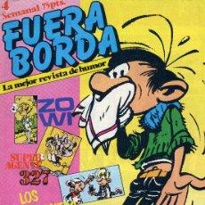 Cómics: FUERA BORDA Nº4(SUPER AGENTE 327, LOS HOMBRECITOS, LOS MOSQUETEROS, TRISTÁN EL SALTEADOR,...). Lote 16422668