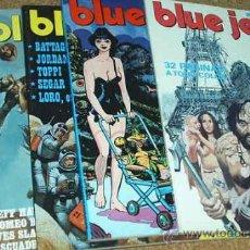 Cómics: SUPER BLUE JEANS LOTE CON LOS Nº 18-19-20-21-28 - PERFECTOS. Lote 16530243