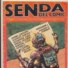 Cómics: SENDA DEL CÓMIC. NEDISA 1979. (30X22 CM.) LOTE DE 4 EJEMPLARES (DEL Nº 1 AL 4). Lote 27595805