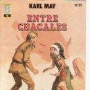Cómics: Nº20 ENTRE CHACALES- DESDE TENERIFE MAS COLECCIONISMO EN RASTRILLOPORTOBELLO. Lote 19354230