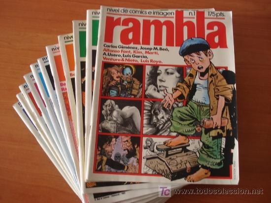 LOTE DE 12 COMICS RAMBLA. GARCIA&BEA EDITORES. (Tebeos y Comics - Comics Colecciones y Lotes Avanzados)