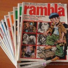 Cómics: LOTE DE 12 COMICS RAMBLA. GARCIA&BEA EDITORES.. Lote 26809386