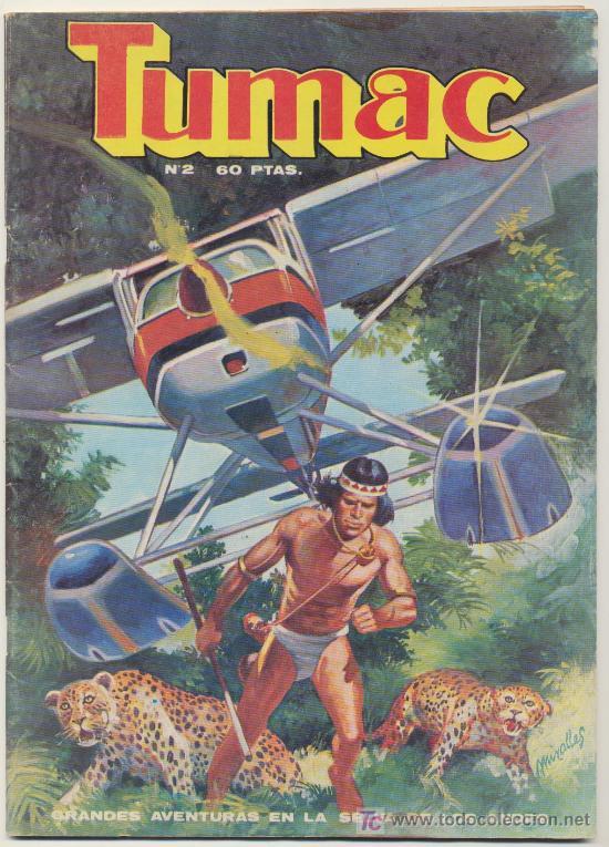 TUMAC. DALMAU SOCIAS 1979. LOTE DE 13 EJEMPLARES ENTRE EL Nº 2 Y EL 18 (Tebeos y Comics - Comics Colecciones y Lotes Avanzados)