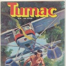 Cómics: TUMAC. DALMAU SOCIAS 1979. LOTE DE 13 EJEMPLARES ENTRE EL Nº 2 Y EL 18. Lote 16737231