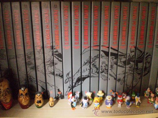 EL GUERRERO DEL ANTIFAZ DE VALENCIANA A COLOR COMPLETA 34 VOLUMENES (Tebeos y Comics - Comics Colecciones y Lotes Avanzados)