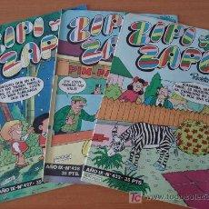 Cómics: LOTE DE 3 COMICS ZIPI Y ZAPE SEMANAL. EDITORIAL BRUGUERA.. Lote 26948955