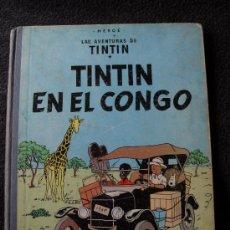 Cómics: HERGÉ - LAS AVENTURAS DE TINTÍN. TINTÍN EN EL CONGO (¡SEGUNDA EDICIÓN!). Lote 17011022