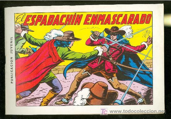 EL ESPADACHIN ENMASCARADO. COLECCION COMPLETA. 1981. SIN CIRCULAR. Nº1 AL Nº84. (Tebeos y Comics - Comics Colecciones y Lotes Avanzados)