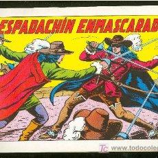 Cómics: EL ESPADACHIN ENMASCARADO. COLECCION COMPLETA. 1981. SIN CIRCULAR. Nº1 AL Nº84.. Lote 153592702