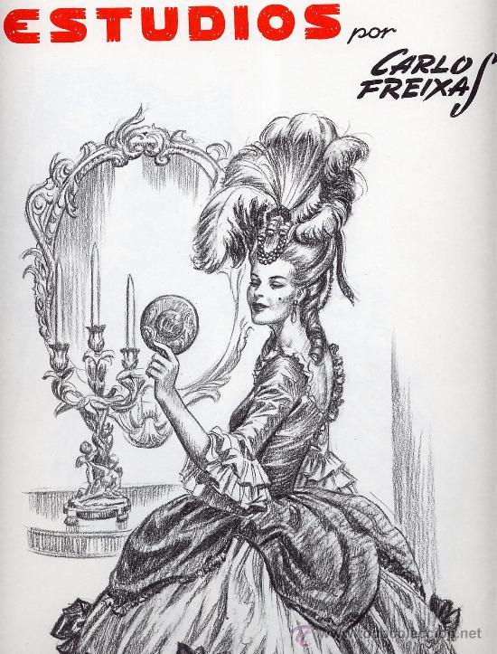 Emilio freixas serie estudios comprar comics antiguos colecciones y lotes avanzados en - Laminas de dibujo artistico ...
