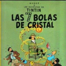 Cómics: X- LAS AVENTURAS DE TINTIN...LAS 7 BOLAS DE CRISTAL...NOVENA EDICIÓN 1985...62 PÁGINAS. Lote 17367450