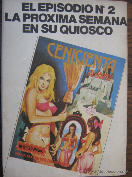 Cómics: comic la CENICIENTA EL GRAN BAILE para mayores de 18 años ediciones actuales s.a el nº 1 - Foto 4 - 26242606