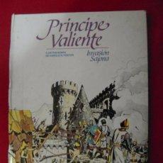 Cómics: PRINCIPE VALIENTE-INVASION SAJONA-BURULAN - TAPA DURA. Lote 24698487