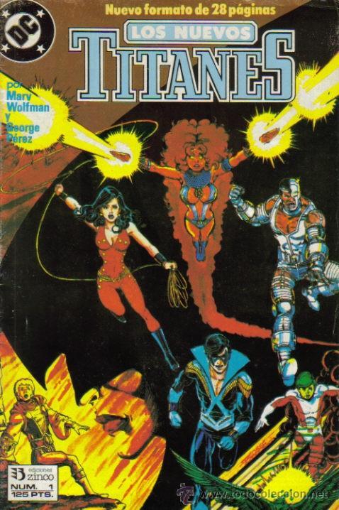 LOS NUEVOS TITANES VOL. II (ZINCO) ORIGINALES 1990-1991 LOTE (Tebeos y Comics - Comics Colecciones y Lotes Avanzados)