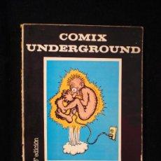 Cómics: COMIX UNDERGROUND. USA. EDITORIAL FUNDAMENTOS. 3 EDICION. 1972 NO VIENE PAGINADO.. Lote 26269580