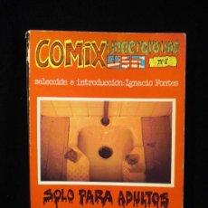 Cómics: COMIC UNDERGROUND Nº2. EDITORIAL FUNDAMENTOS. 1973. NO VIENE PAGINADO.. Lote 26269579
