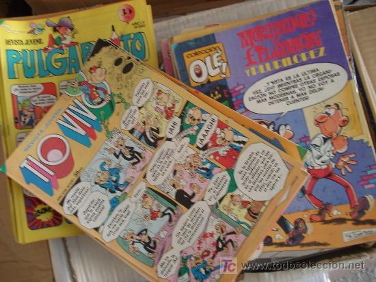 LOTE DE 30 COMICS VARIADOS. COLECCION OLÉ Y MAS. EDITORIAL BRUGUERA. (Tebeos y Comics - Comics Colecciones y Lotes Avanzados)