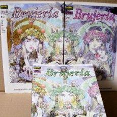 Fumetti: BRUJERÍA 1 2 3 COMPLETA – NORMA ED. AÑO 1999, COLOR, COL. VERTIGO 88 94 98 – NUEVOS (PRECINTADOS). Lote 29225635