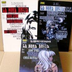 Comics : LA HORA BRUJA 1 2 3 COMPLETA – VERTIGO NºS 160 163 167 - NORMA ED 2001 - NUEVO (PRECINTADO). Lote 47354263