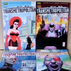 Cómics: TRANSMETROPOLITAN - REGRESO A LOS ORÍGENES 1 2 3 4 COMPLETA – VERTIGO 188...196 – NUEVO (PRECINTADO). Lote 41199193