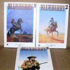 Fumetti: BLUEBERRY 1 2 3 COMPLETA – GRANDES HÉROES DEL CÓMIC 44 45 46 – EL MUNDO - Y SUELTOS. Lote 113079926