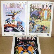 Cómics: PATRULLA-X 1 2 3 COMPLETA – GRANDES HÉROES DEL CÓMIC 8 9 10 – EL MUNDO - TAMBIÉN SUELTOS. Lote 27160583