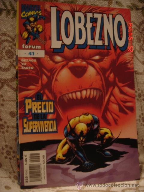 Cómics: LOTE LOBEZNO - Foto 22 - 17932877