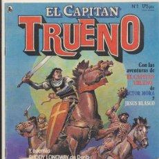 Cómics: EL CAPITÁN TRUENO. NUEVAS AVENTURAS. BRUGUERA 1986. LOTE DE 8 EJEMPLARES (DEL Nº 1 AL 8). Lote 17951318