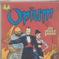 Cómics: OPIUM. NORMA. COLECCIÓN COMPLETA (6 EJEMPLARES). IMPECABLE. Lote 17973085