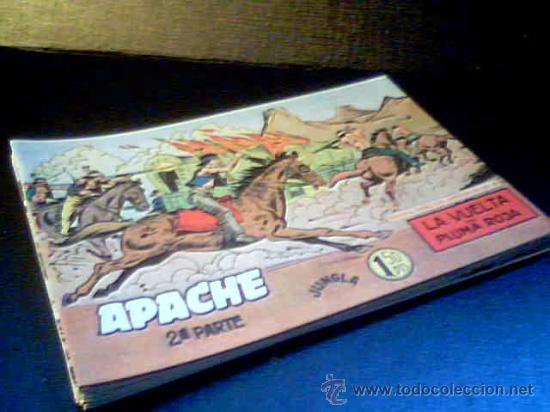 APACHE JUNGLA. 2ª PARTE. LOTE DE 17 COMICS. EDITORIAL MAGA. COMO NUEVOS. (Tebeos y Comics - Comics Colecciones y Lotes Avanzados)