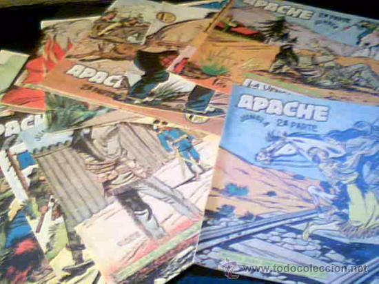 Cómics: APACHE JUNGLA. 2ª PARTE. LOTE DE 17 COMICS. EDITORIAL MAGA. COMO NUEVOS. - Foto 2 - 27571808