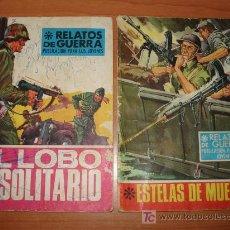 Cómics: LOTE DE DOS COMICS RELATOS DE GUERRA. EDICIONES TORAY.. Lote 27000335