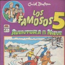 Comics: LOS FAMOSOS 5 Nº 5.. Lote 18552428