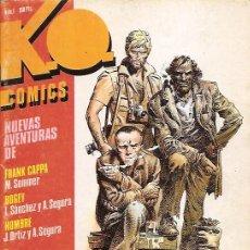 Cómics: KO K.O. COMICS Nº 1 CON WILL EISNER - ALEX TOTH - SOMMER - ORTIZ - L. SANCHEZ - METROPOL 1983 . Lote 18742122