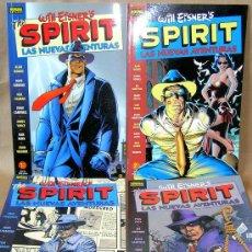 Cómics: THE SPIRIT - LAS NUEVAS AVENTURAS 1 2 3 4 COMPLETA - COLOR, PRECINTADOS - ALAN MOORE, NEIL GAIMAN.... Lote 217908665