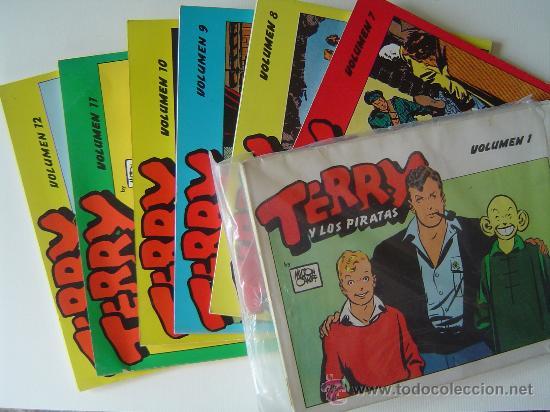 COLECCION COMPLETA DE TERRY Y LOS PIRATAS (Tebeos y Comics - Comics Colecciones y Lotes Avanzados)