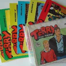 Cómics: COLECCION COMPLETA DE TERRY Y LOS PIRATAS. Lote 25793970
