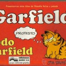 Cómics: GARFIELD ( JUNIOR ) ORIGINAL 1985 LOTE. Lote 26852338